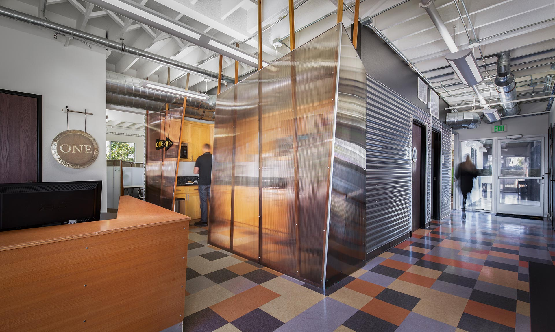 Office Ti Project by J Weir Masterworks